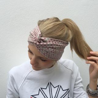 Haarband TurbanStirnband **DREIECK**  von zimtbluete