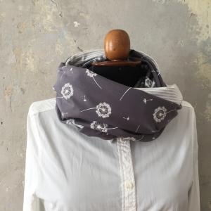 Loopschal Stillschal * DANDELION * XL  von zimtblüte zum Wenden  Handarbeit