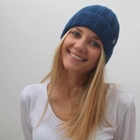 Beanie handgestrickt  SEEMANNSGARN  Wollbeanie auch für Männer von zimtblüte Farbwahl  - Handarbeit kaufen