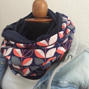 Schlauchschal  * RETRO * Trendfarbe 2019 XL auch Stillschal von zimtblüte