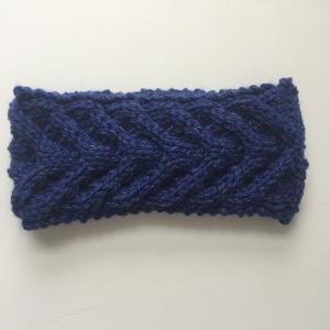 Stirnband * EFFI * blau von zimtblüte handgestrickt / Farbwahl
