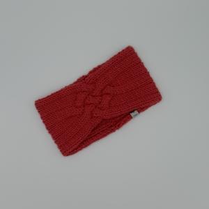 Last Minute Gestricktes Stirnband *ZOE *  Handarbeit  aus Wolle von zimtblüte kürbis  - Handarbeit kaufen