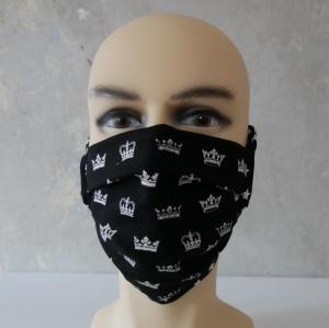 Mund-Nasen-Maske, Behelfsmaske KRONE auch für Männer von zimtblüte