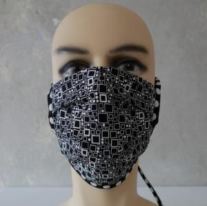 Mund-Nasen-Maske, Behelfsmaske VIERECK auch für Männer von zimtblüte