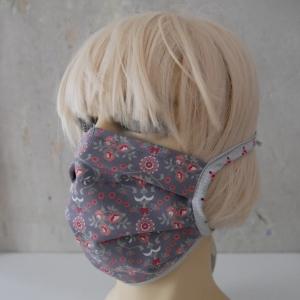 Mund-Nasen-Maske, Behelfsmaske BLÜMCHEN für Frauen von zimtblüte