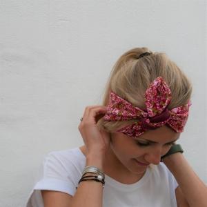 RÖSCHEN KnotenStirnband Haarband  mit Schleife von zimtblüte