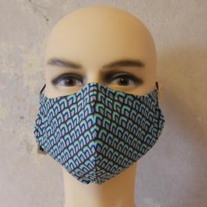 Mund-Nasen-Maske, Behelfsmaske Alltagsmaske mit Nasensteg auch für Männer von zimtblüte