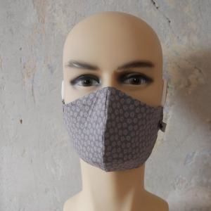 Mund-Nasen-Maske, Behelfsmaske Alltagsmaske ergonomisch drei Größen von zimtblüte  - Handarbeit kaufen