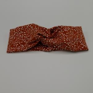 ! RABATT! Turbanstirnband mit RANKEN Stirnband Knoten mit Twist handmade Haarband von zimtbluete  - Handarbeit kaufen