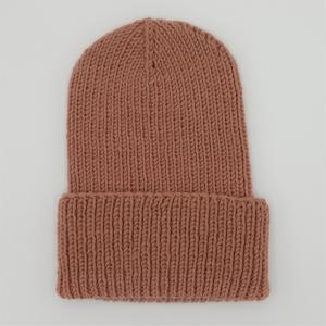 LAST MINUTE BASIC Beanie ZIMT handgestrickt  Wollbeanie unisex von zimtblüte   - Handarbeit kaufen