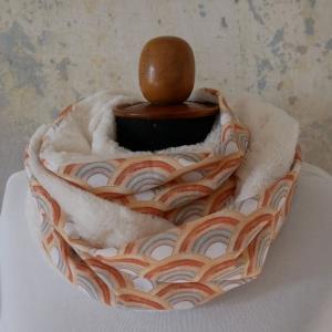 Schlauchschal  REGENBOGEN  von zimtblüte  handmade kaufen  - Handarbeit kaufen