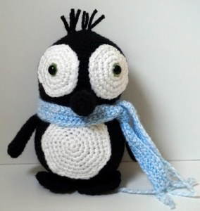 ♡ Amigurumi Pinguin Joe ♡ amigoll9 ♡ Deko ♡ Handarbeit ♡
