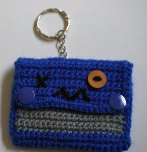 ♡ Amigurumi Schlüsselanhänger Tasche Monster ♡ amigoll9 ♡ Deko ♡ Handarbeit ♡ - Handarbeit kaufen