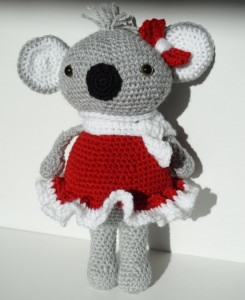 ♡ Amigurumi Koala Kim ♡ amigoll9 ♡ Deko ♡ Handarbeit ♡ - Handarbeit kaufen