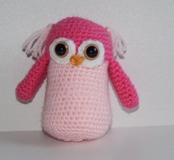 ♡ Amigurumi Eule Pink ♡ amigoll9 ♡ Deko ♡ Handarbeit ♡