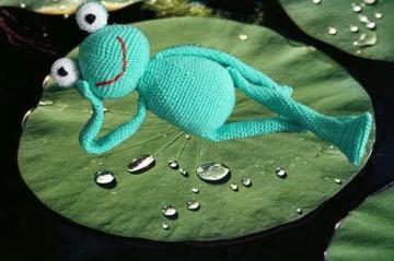 ♡ HÄKELANLEITUNG Frosch ♡ amigoll9 ♡ Anleitung ♡ - Handarbeit kaufen