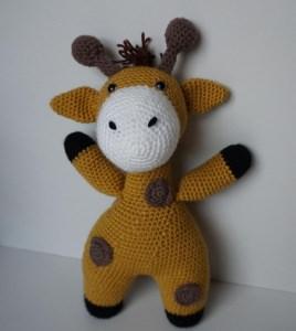 ♡ HÄKELANLEITUNG Giraffe Giraffi ♡ amigoll9 ♡ Anleitung ♡ - Handarbeit kaufen