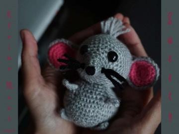 ♡ HÄKELANLEITUNG kleine Maus Sweety ♡ amigoll9 ♡ Anleitung ♡ - Handarbeit kaufen