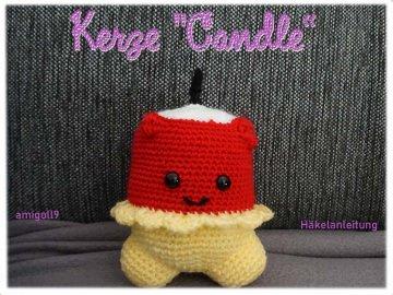 ♡ HÄKELANLEITUNG Candle ♡ amigoll9 ♡ Anleitung ♡ - Handarbeit kaufen