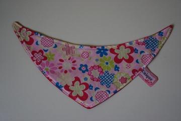 ♡ Hundehalstuch in der Farbe rosa-rot ♡ amigoll9 ♡ Deko ♡ Handarbeit ♡