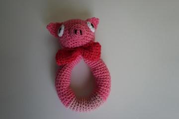 ♡ Amigurumi Greifling Piggy ♡ amigoll9 ♡ Deko ♡ Handarbeit ♡ - Handarbeit kaufen