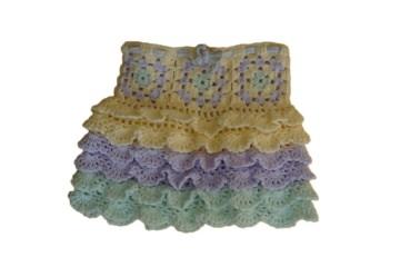 ♡ Kinderrock pastel ♡ amigoll9 ♡ Deko ♡ Handarbeit ♡ - Handarbeit kaufen