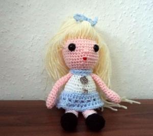 Häkelanleitung für die kleine Alice - Handarbeit kaufen