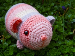 Häkelanleitung für das Meerschweinchen Rainbow - Handarbeit kaufen
