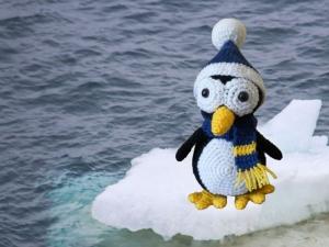 Häkelanleitung für den Pinguin Flavour - Handarbeit kaufen