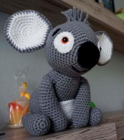 Amigurumi Häkelanleitung Koala Kiki - Handarbeit kaufen