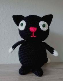Amigurumi Häkelanleitung für die Katze Blacky ♥ - Handarbeit kaufen