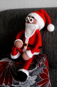 Häkelanleitung für den Schlenker Santa... - Handarbeit kaufen