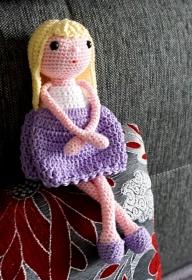 Häkelanleitung für die Amigurumi Puppe Marie - Handarbeit kaufen