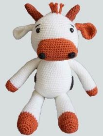 Häkelanleitung für die Kuh Hilde - Handarbeit kaufen