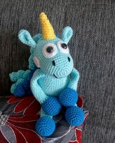Amigurumi Häkelanleitung Unicorn Fluffy der 2. - Handarbeit kaufen
