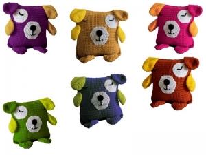 Häkelanleitung Kuschelkissen Hund Barney ♥ - Handarbeit kaufen