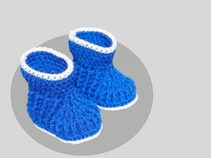 Häkelanleitung für Baby Booties - Handarbeit kaufen