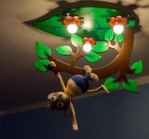 Bauanleitung für die Lampe mit Affen Ape - Handarbeit kaufen
