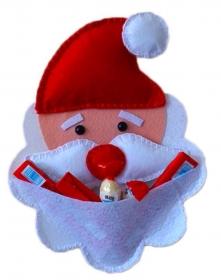 Bastelanleitung für den Nikolaus zum befüllen (Weihnachten) - Handarbeit kaufen