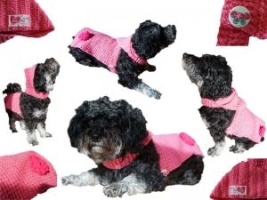 Häkelanleitung Hundemantel mit Kapuze ideal für kleine Hunde und kalte trockne Tage - Handarbeit kaufen