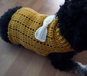Häkelanleitung für das Hundehalsband im Flechtmuster - Handarbeit kaufen