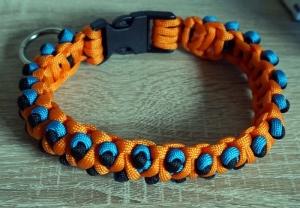 ♡ Hundehalsband Dragon aus Paracord ♡ amigoll9 ♡ Handarbeit ♡ - Handarbeit kaufen