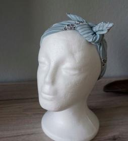 Bandeau Haarband ♡ Anker Jersey ♡ zum knoten ♡ Kinder Damen ♡ amigoll9 Handmade - Handarbeit kaufen