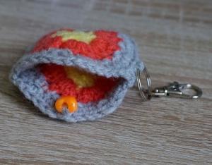 Schlüsselanhänger kleine Tasche ♡ amigoll9 Handmade - Handarbeit kaufen