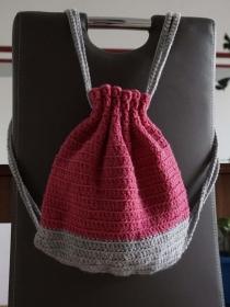 Rucksack ♡ Backpack ♡ Turnbeutel Sommertasche ♡ Sommerrucksack ♡ amigoll9 ♡ Handmade - Handarbeit kaufen