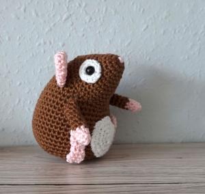 Amigurumi Georg♡ Kuscheltier ♡ Meerschweinchen ♡ amigoll9 ♡ Handarbeit ♡ 100% Baumwolle