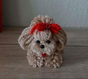 Schlüsselanhänger Hund/ Taschenbaumler/ Anhänger♡ amigoll9 ♡ Handarbeit 569 - Handarbeit kaufen