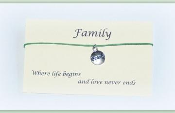 Freundschaftsbändchen Family - Familie