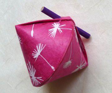 Schmuck-/Geschenkschächtelchen Löwenzahn pink (Kopie id: 100146943)
