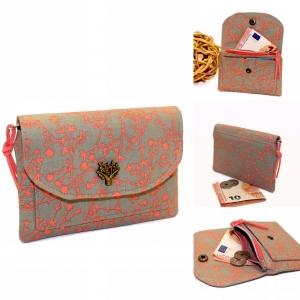 Mini-Portemonnaie klein, fein und praktisch...